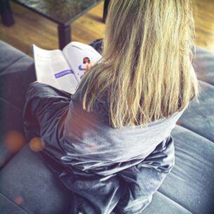 Gravitacinė antklodė nerimo simptomams palengvinti