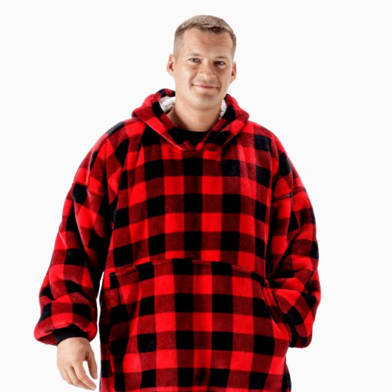 NOXNOX Hoodie Blanket BBQ