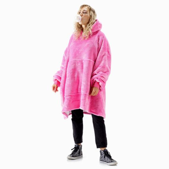 NOXNOX Hoodie Blanket Woman Pink